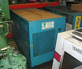 25 HP Used Rotary Screw Air Compressor - 90 cfm-125 psi - 1976 With Enclosure - Hydra-Screw - M59709